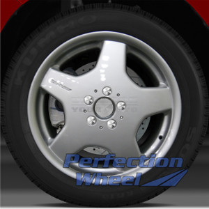 2001-2002 Mercedes CL55 18x8.5 Factory Front Wheel (Bright Fine Silver)