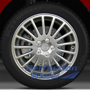 01-07 Volvo 70 Series 17x7.5 OEM Wheel (17 Spoke Hyper Bright Mirror Silver FF)