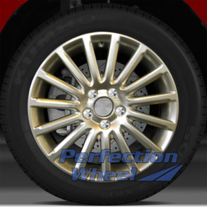 08-10 Volvo 70 Series 17x7 Wheel (15 Spoke Hyper Bright Mirror Silver Full Face)