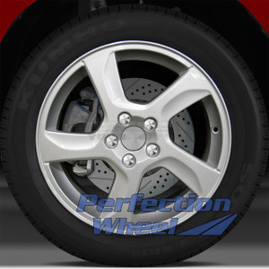 2011-2013 Volvo 60 Series 17x7 Factory Wheel (Bright Sparkle Silver)