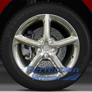 2007-2010 Saturn Sky 18x8 Factory Wheel (Full Polish)