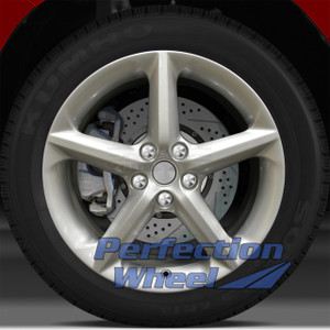 2007-2010 Saturn Sky 18x8 Factory Wheel (Fine Bright Silver)