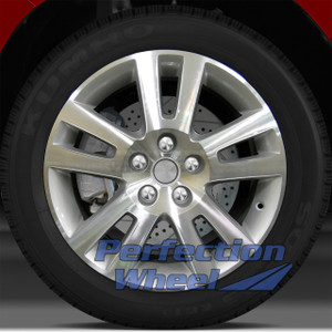 2007-2010 Saturn Aura 17x7 Factory Wheel (Bright Medium Sparkle Silver)