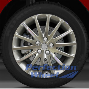 2007-2010 Saturn Aura 18x7 Factory Wheel (Bright Sparkle Silver)