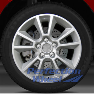 2008-2009 Saturn Astra 17x7 Factory Wheel (Bright Sparkle Silver)
