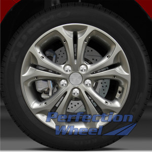 2013-2015 Hyundai Elantra 17x7 Factory Wheel (Bright Metallic Silver)