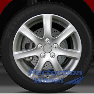 2003-2005 Acura TSX 17x7 Factory Wheel (Bright Medium Silver)