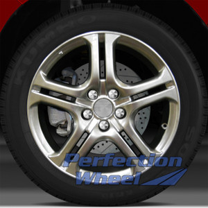 2004-2008 Acura TL 18x8 Factory Wheel (Silver Gray Sparkle)