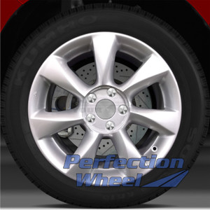 2008-2010 Infiniti EX35 17x7.5 Factory Wheel (Medium Sparkle Silver)
