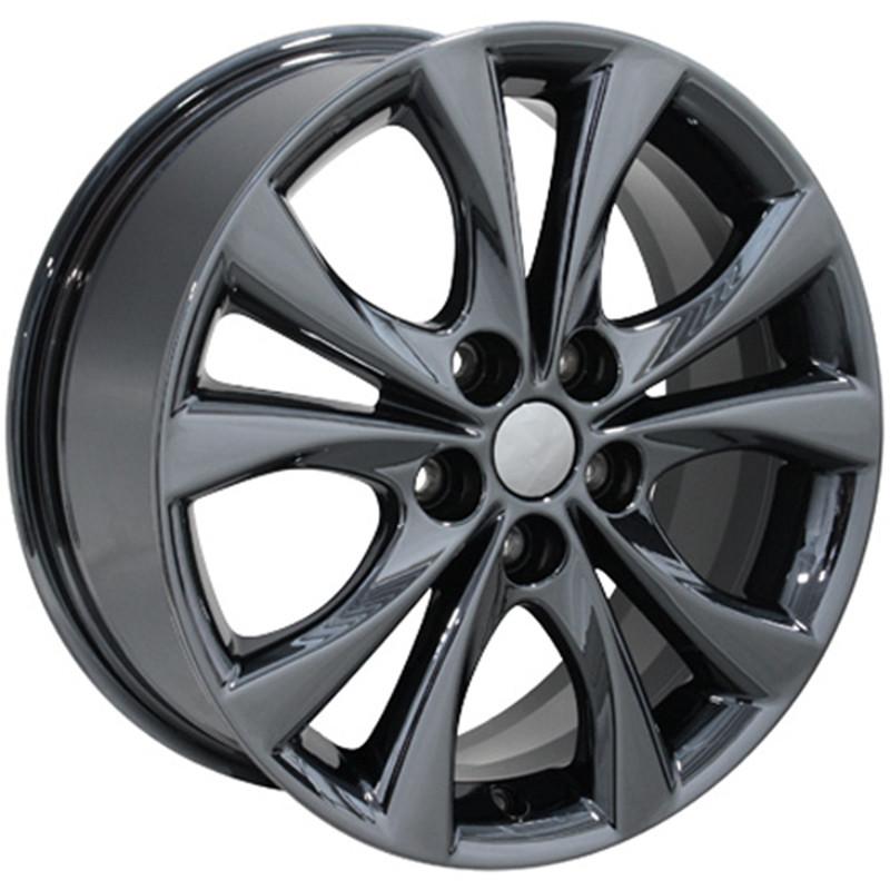 17x7 3 Style Pvd Black Chrome Wheel For 2003 2015 Mazda 6