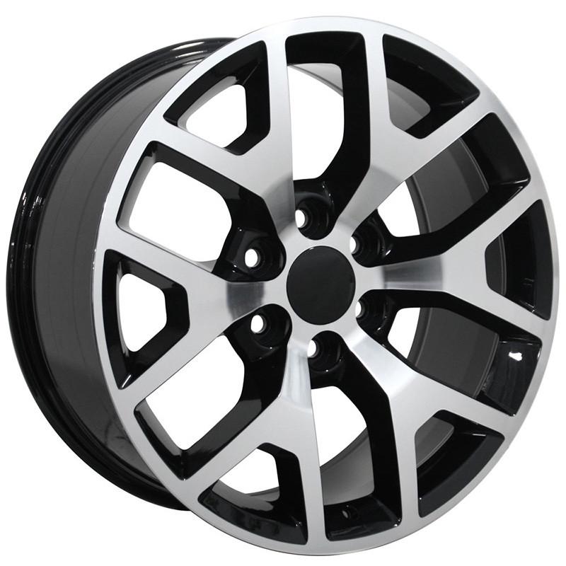22 Wheels 92 14 Gmc Yukon Owh2033
