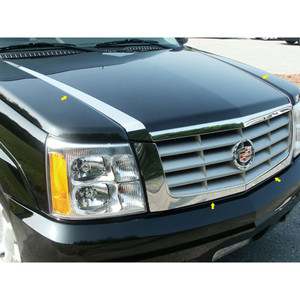 Luxury FX | Front Accent Trim | 02-06 Cadillac Escalade | LUXFX2026