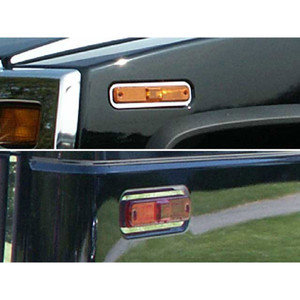 Luxury FX | Front and Rear Light Bezels and Trim | 03-07 Hummer H2 | LUXFX2039