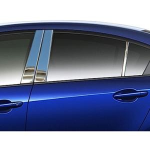 Luxury FX | Pillar Post Covers and Trim | 10-12 Mazda 3 | LUXFX2235