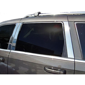 Luxury FX   Pillar Post Covers and Trim   05-10 Jeep Grand Cherokee   LUXFX2477