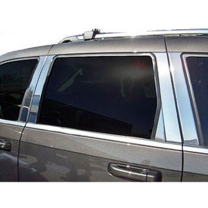 Luxury FX   Pillar Post Covers and Trim   05-10 Jeep Grand Cherokee   LUXFX2479
