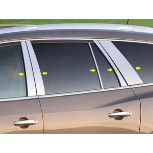 Luxury FX | Pillar Post Covers and Trim | 13-16 Buick Enclave | LUXFX2499