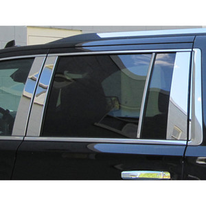 Luxury FX | Pillar Post Covers and Trim | 15-16 Chevrolet Suburban | LUXFX2536