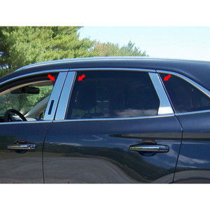 Luxury FX | Pillar Post Covers and Trim | 15-16 Lincoln MKC | LUXFX2543