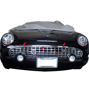 Luxury FX | Front Accent Trim | 02-06 Ford Thunderbird | LUXFX2627