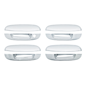 Brite Chrome | Door Handle Covers and Trim | 05-07 Buick Rainier | BCID001