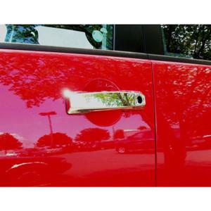 Brite Chrome | Door Handle Covers and Trim | 04-14 Nissan Titan | BCID156