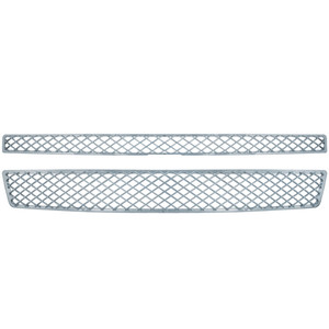 Brite Chrome | Grille Overlays and Inserts | 07-14 Chevrolet Suburban | BCIG004