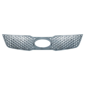 Brite Chrome | Grille Overlays and Inserts | 10 KIA Forte | BCIG015