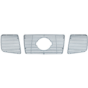Brite Chrome | Grille Overlays and Inserts | 04-07 Nissan Titan | BCIG020