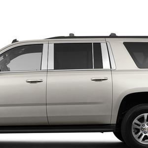 Brite Chrome | Pillar Post Covers and Trim | 15-17 Chevrolet Suburban | BCIP137