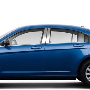 Brite Chrome | Pillar Post Covers and Trim | 07-10 Chrysler Sebring | BCIP147