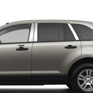 Brite Chrome   Pillar Post Covers and Trim   07-15 Lincoln MKX   BCIP176