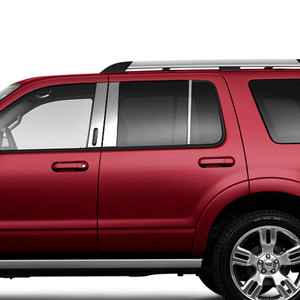 Brite Chrome | Pillar Post Covers and Trim | 02-10 Mercury Mountaineer | BCIP186