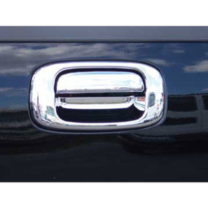 Brite Chrome | Tailgate Handle Covers and Trim | 99-06 GMC Sierra 1500 | BCIT037