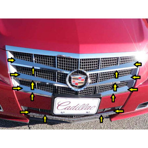 Luxury FX | Grille Overlays and Inserts | 08-13 Cadillac CTS | LUXFX3180