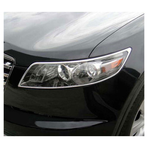 Premium FX | Front and Rear Light Bezels and Trim | 03-08 Infiniti FX | PFXH0056