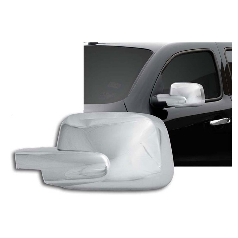 For Chevy Hhr 06-11 Chrome Mirror Covers