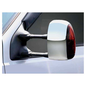 Premium FX Chrome Towing Mirror Covers w//Signal Cutouts for 09-2016 Dodge Ram HD