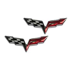 American Car Craft | Emblems | 05_13 Chevrolet Corvette | ACC0442