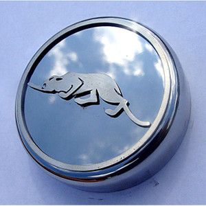 Chrome Radiator Fluid Cap w/Kat Logo&Brushed Accent for 1999-02 Chrysler Prowler