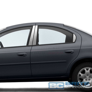 Brite Chrome | Pillar Post Covers and Trim | 00-05 Dodge Neon | BCIP226