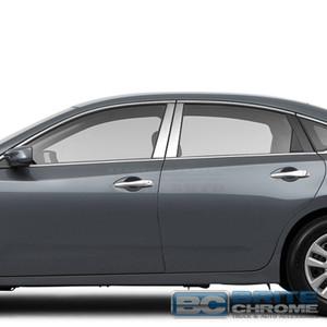 Brite Chrome | Pillar Post Covers and Trim | 13-17 Nissan Altima | BCIP283