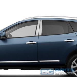 Brite Chrome | Pillar Post Covers and Trim | 08-13 Nissan Rogue | BCIP285