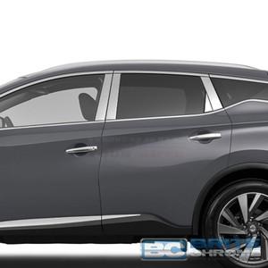 Brite Chrome | Pillar Post Covers and Trim | 15-17 Nissan Murano | BCIP292