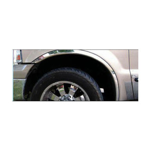 Stainless Sill Trim fit for 1999-16 Ford F-250//350 SD Crew Cab LUXFX2929