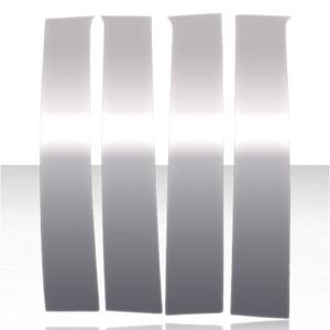 Auto Reflections | Pillar Post Covers and Trim | 14-17 GMC Sierra 1500 | ARFP092