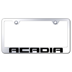 Au-TOMOTIVE GOLD | License Plate Covers and Frames | GMC Acadia | AUGD5477