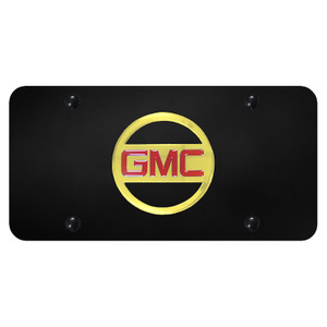 Au-TOMOTIVE GOLD | License Plate Covers and Frames | GMC | AUGD5550