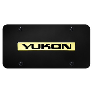 Au-TOMOTIVE GOLD | License Plate Covers and Frames | GMC Yukon | AUGD5552