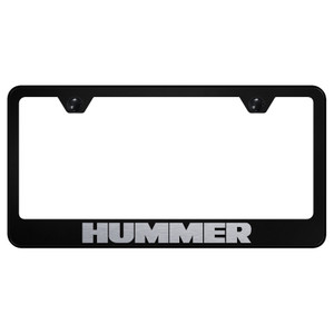 Au-TOMOTIVE GOLD | License Plate Covers and Frames | Hummer | AUGD6016